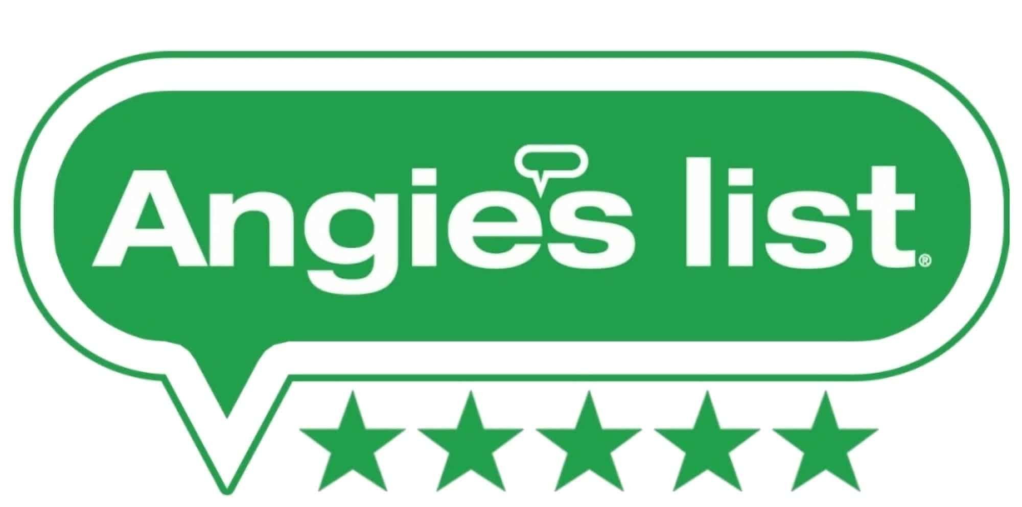 Angie's List 5 star logo