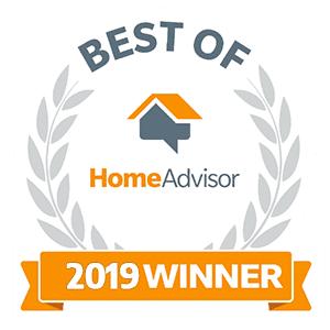 Best of home advisor 2019 winner logo