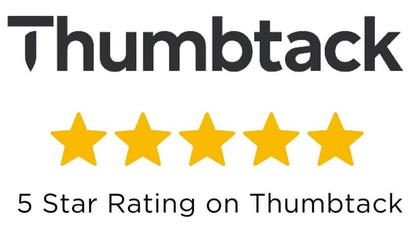 Thumbtack 5 star rating logo