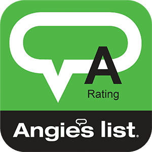 Angie's list A-rating logo